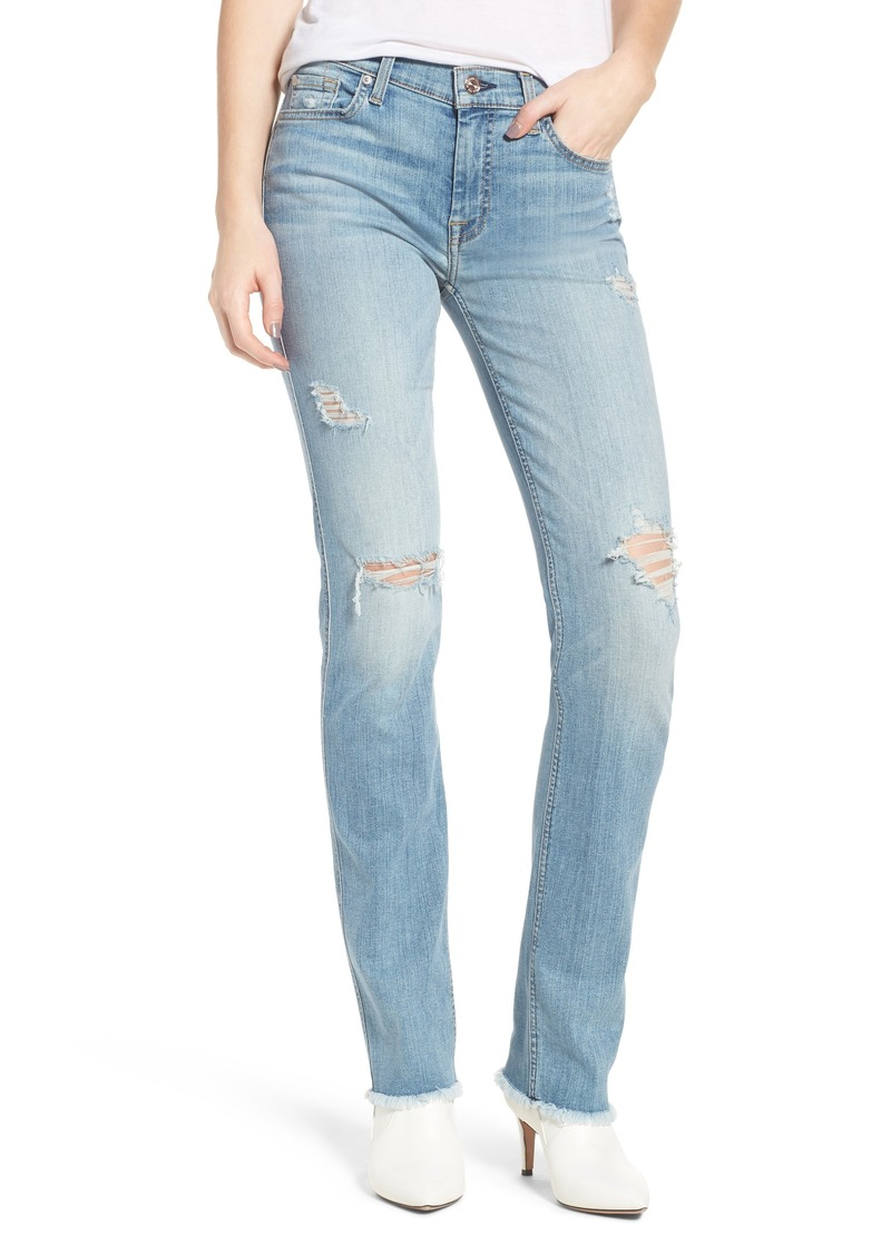7 For All Mankind® Dylan Ripped Straight Leg Jeans (Heritage Valley 3)