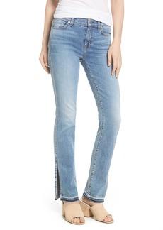 7 For All Mankind® Dylan Split Hem Straight Leg Jeans (Light Lafayette)