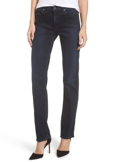 7 For All Mankind® Dylan Straight Leg Jeans (Smoked Indigo)