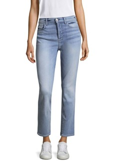 7 For All Mankind Edie Ankle Straight Jeans