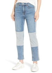 7 For All Mankind® Edie High Waist Crop Jeans (Gold Coast Waves)