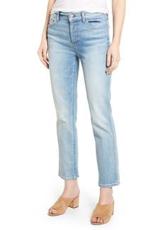 7 For All Mankind® Edie High Waist Crop Jeans (Vintage Azure)