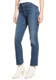 7 For All Mankind® Edie High Waist Crop Straight Leg Jeans (Mineral Desert Springs 2)