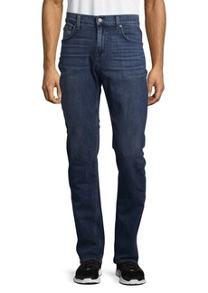 7 For All Mankind The Straight Faded Jeans