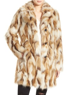 7 for All Mankind Faux Fur Coat