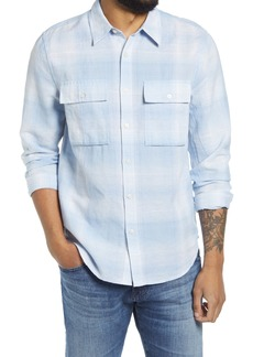 7 For All Mankind Flap Pocket Button-Up Shirt
