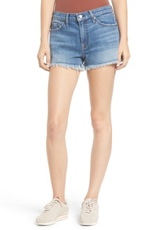 7 For All Mankind® Frayed Cutoff Shorts (Desert Oasis)