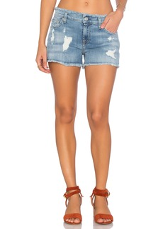 7 For All Mankind Frayed Edge Cut Off Short