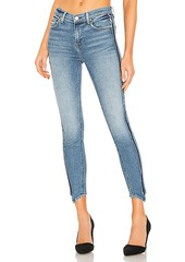 7 For All Mankind Frayed Hem Ankle Skinny