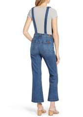 7 For All Mankind® Georgia Crop Flare Overalls