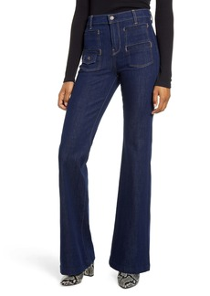 7 For All Mankind® Georgia Flare Jeans (Uptown Rinse)