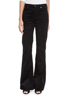 7 For All Mankind Ginger Flare-Leg Corduroy Pants