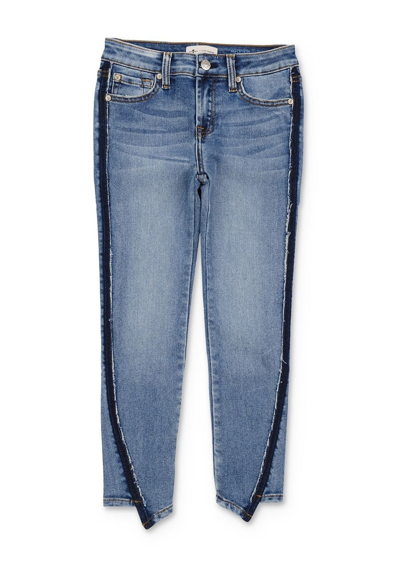 7 For All Mankind Girls' Ankle Skinny Jeans - Big Kid