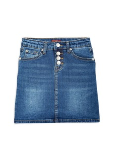 7 For All Mankind Girls' Classic Denim Skirt - Big Kid