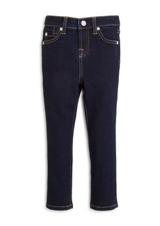 7 For All Mankind Girls' Dark Indigo Skinny Jeans - Little Kid