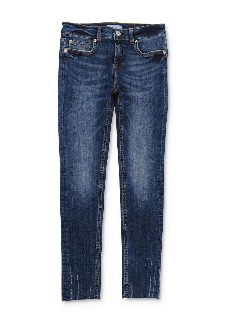 7 For All Mankind Girls' Faded Skinny Stretch Jeans - Little Kid