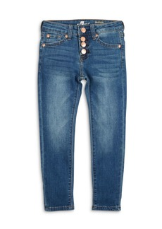 7 For All Mankind Girls' The Ankle Skinny Jeans - Big Kid