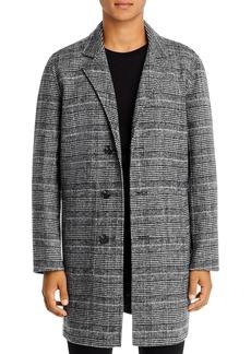7 For All Mankind Glen Plaid Coat