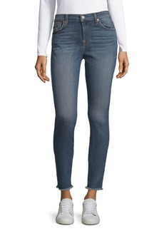 7 For All Mankind Gwenevere Ankle-Crop Jeans