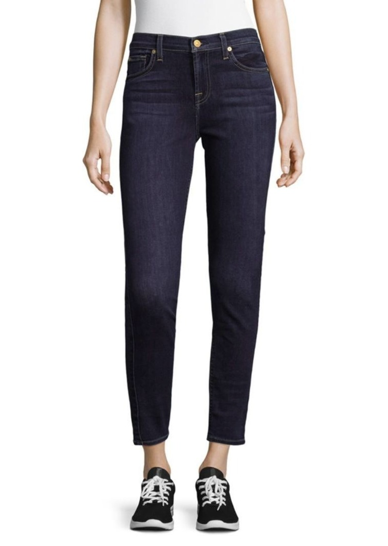 7 For All Mankind Gwenevere Ankle Length Skinny Jeans