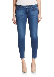 7 For All Mankind Gwenevere Cropped Skinny Jeans
