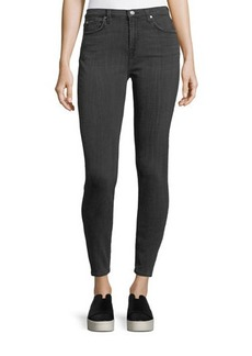 7 For All Mankind Gwenevere High-Waist Jeans with Squiggle Pockets