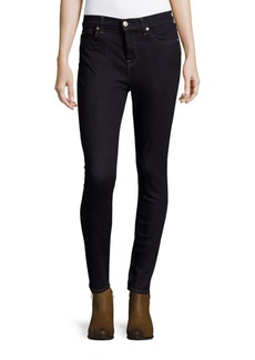 7 For All Mankind Gwenevere High-Waisted Skinny Ankle Jeans