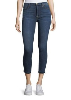 7 For All Mankind Gwenevere Released-Edge Ankle Jeans