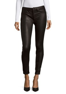 7 For All Mankind Gwenevere Textured Skinny Jeans