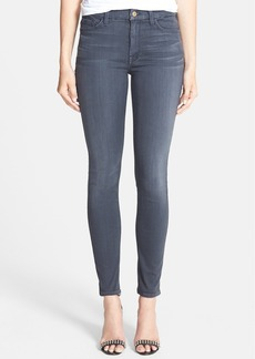 7 For All Mankind® High Rise Ankle Skinny Jeans (Bastille Grey)