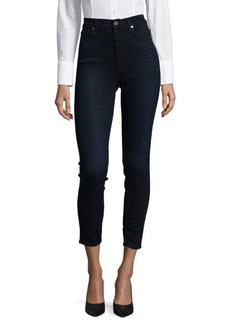 7 For All Mankind High-Rise Denim Jeans
