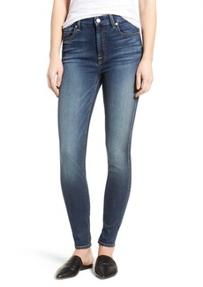 7 For All Mankind® High Waist Skinny Jeans (Iron Cove)