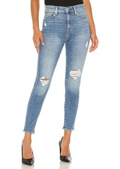 7 For All Mankind High Waist Ankle Skinny