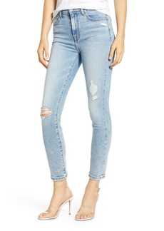 7 For All Mankind® High Waist Ankle Skinny Jeans