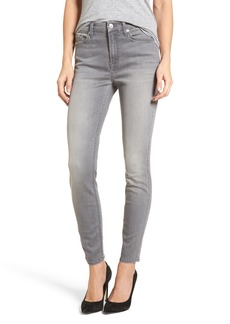 7 For All Mankind® High Waist Ankle Skinny Jeans (Chrysler Grey)