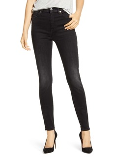 7 For All Mankind® High Waist Ankle Skinny Jeans (Darkash)