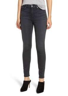 7 For All Mankind® High Waist Ankle Skinny Jeans (Grey)