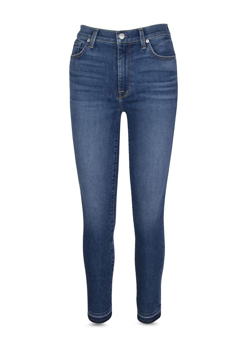 7 For All Mankind High Waist Ankle Skinny Jeans in Court St