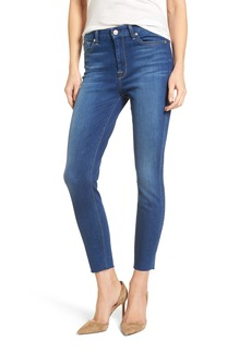 7 For All Mankind® High Waist Ankle Skinny Jeans (Manhattan)