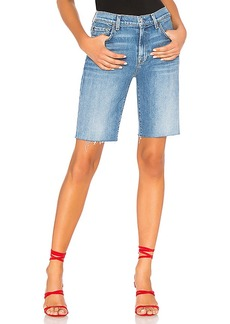 7 For All Mankind High Waist Bermuda Short