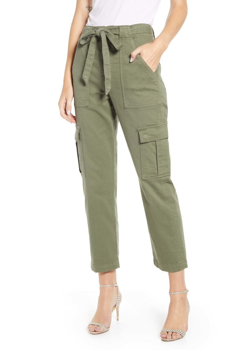 7 For All Mankind® High Waist Crop Cargo Pants