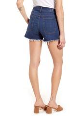 7 For All Mankind® High Waist Cutoff Denim Shorts (Fletcher Drive)