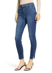 7 For All Mankind High Waist Side Snip Ankle Skinny Jeans (Modern Heritage)