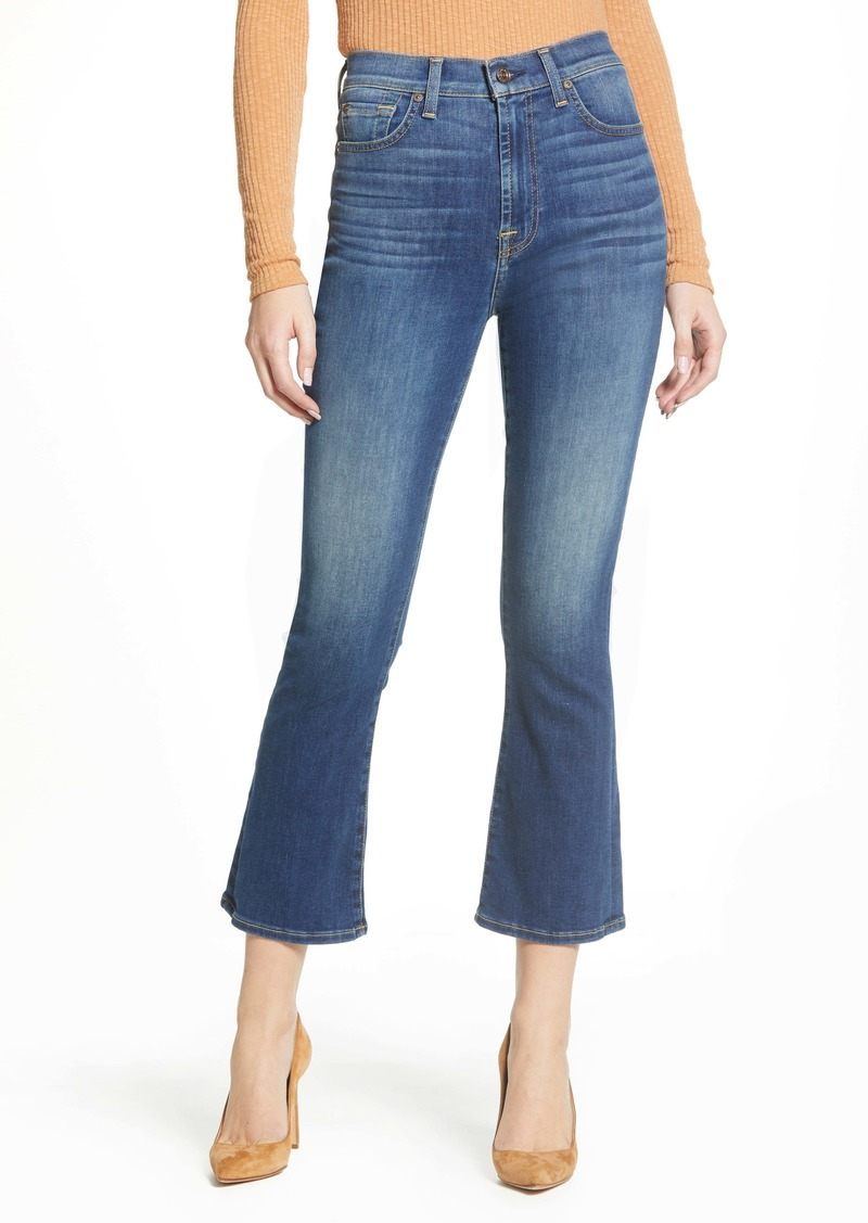 7 For All Mankind® High Waist Slim Kick Jeans