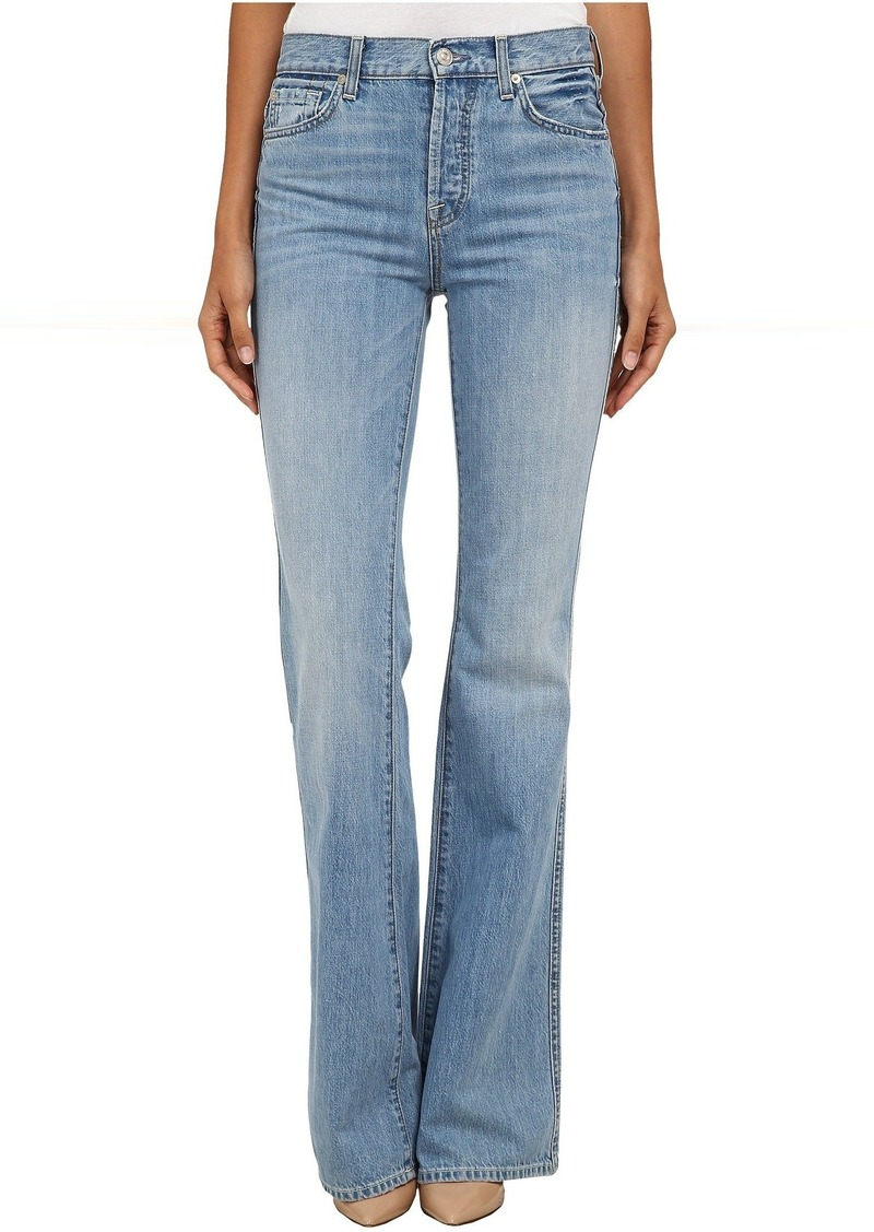 7 For All Mankind High Waist Vintage Bootcut in Heritage Light