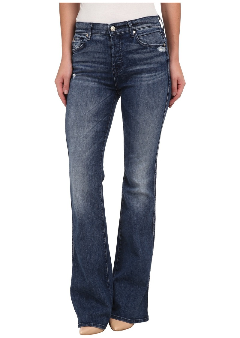 7 For All Mankind High Waist Vintage Bootcut in Lake Blue