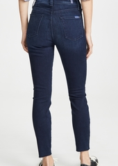 7 For All Mankind High Rise Ankle Jeans
