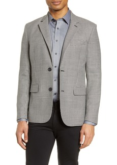 7 For All Mankind® Houndstooth Slim Fit Sport Coat