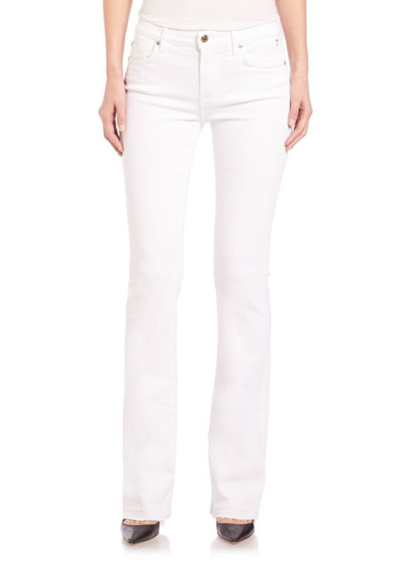 7 For All Mankind Iconic Tailorless Bootcut Jeans