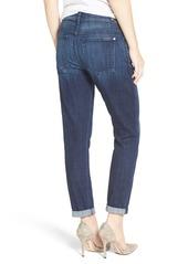 7 For All Mankind® 'Josefina' Boyfriend Jeans (Bordeaux Broken Twill)